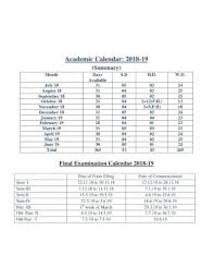Free 18 College Calendar Examples Templates Pdf Examples