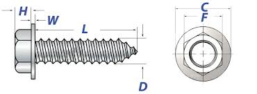 Lag Screws Dimensions And Mechanical Properties Aft Fasteners