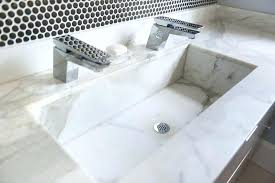 trough bathroom sink with two faucets white marble trough sink with two faucets undermount trough bathroom