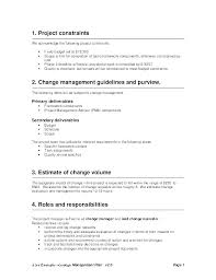 Simple Statement Of Work Template Statement Document Template