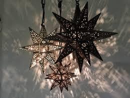 popular moravian star ceiling light