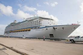 photos where you can cruise to from galvestonthe global cruise line s largest ship sailing short