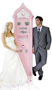 Autowed Vending Machine New AutoWed Wedding Vending Machine Concept Shed
