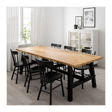 ikea norraryd skogsta table and 6 chairs