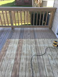 1 Year Old Deck Prep For Stain Deck Cleaning Questions And