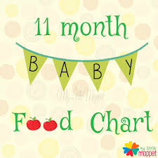 11 Months Old Baby Weight Chart 11 Months Baby Food Chart With Indian Recipes