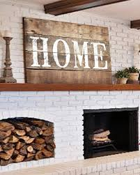 large rustic home sign farmhouse wall decor walls of wisdom