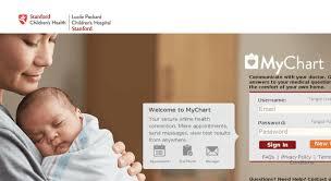 Mychart Stanford Childrens 2019
