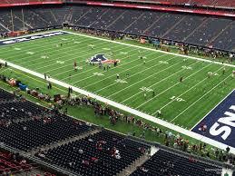 Houston Reliant Stadium Seating Chart Nrg Stadium Section 503 Houston Texans Rateyourseats Com