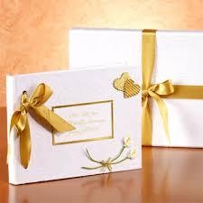 Personalised Golden Wedding Anniversary Photo Album The Gift