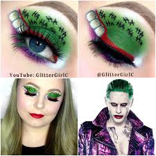 the joker squad makeup