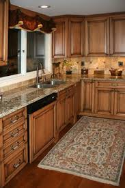 Love The Flooring With These Cabinets. Maple Kitchen Cabinets With Burnt  Sugar Glaze Provided By Works Of Art Tile, Kitchen Cabinet Design, ...