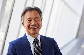 person office. portrait of asian businessman in modern office stock photo person
