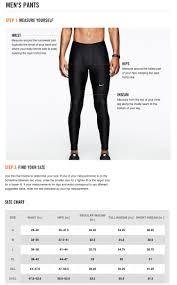 Nike Leggings Size Chart