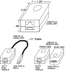 usb to cat wiring diagram usb image wiring diagram usb extender cat5 balun rj45 exceed maximum usb length extension on usb to cat5 wiring diagram