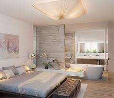 master bedroom with open bathroom. Gorgeous Hotel-like Bedroom With A Bathtub And Fireplace Master Open Bathroom G