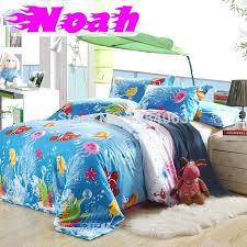 child bedding sets ocean finding kids bedding cotton bed sheets duvet toddler girl twin bedding sets
