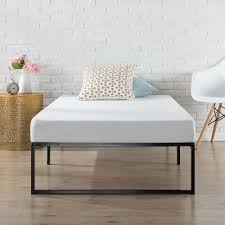 modern twin bed. Wonderful Twin Zinus Modern Studio 12 In Twin Platform Bed Frame Throughout O