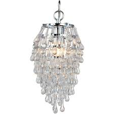 full size of lighting delightful small chandeliers for closets 18 polished chrome clear glass af 4950