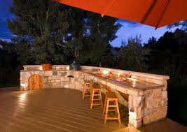 Outdoor Patio Kitchen Outdoor Kitchen Designs With Uncovered And Covered Style Helping