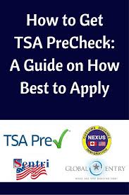 Ultimate Precheck On Apply The To Best Guide Tsa How Get qWnARZp