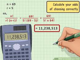 Lotto Chart Machine 3 Ways To Calculate Lotto Odds Wikihow