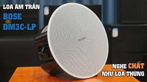 LẠC VIỆT AUDIO | Loa âm trần nghe nhạc hay hơn loa thùng - Bose DM3C-LP -  YouTube