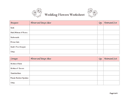 Wedding Planner Outline Under Fontanacountryinn Com