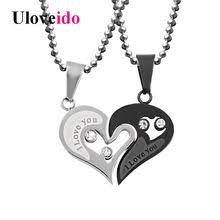 <b>LOOKER</b> Forever <b>Love</b> BIG Sister Necklace Set For Best Friend Gift ...