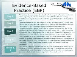 evidence based practice in nursing essay understanding the integration of evidence based practice in understanding the integration of evidence based practice in