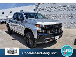 New Chevrolet Silverado Inventory - Gene Messer Auto Group ...