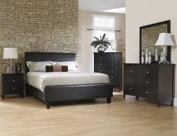 Black Bedroom Furniture Set Pure White Drawer Chest Dark Grey Fur ...