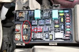 location of starter fuse or relay for starter, dead engine not 2005 honda accord cigarette lighter fuse at Blown Fuse Box Honda Accord 2005