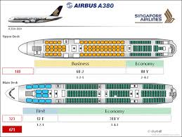 Airbus A380 Cabin Configuration Airbus A380 Airplane
