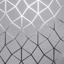 metallic geometric textured wallpaper