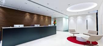 office interiors ideas. Raised Flooring In Dubai; Reception Interior Ideas Dubai Office Interiors
