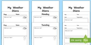 Membership Booklet Template My Weather Diary Booklet Template Weather Diary My Weather Diary My