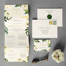 Wedding Invitation Folding Viennese Folding Wedding Invitation By Feel Good Wedding Invitations