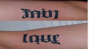 4 letter words for tattoos that s good to ink