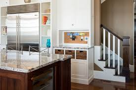 phone charging station Kitchen Traditional with art work back hall. Image  by: Sicora DesignBuild