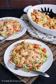 low carb parmesan garlic shrimp