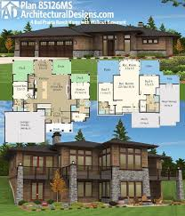 lakefront home plans with walkout basement walkout basement home plans fresh lake house plans