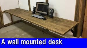 diy a wall mounted desk