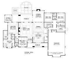 Small Picture Good Large Kitchen House Plans Part 10 PLAN 4099 1ST FLOOR