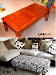coffee table ottoman writehookstudio com how to make a into tufted might be full size of