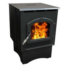 pleasant hearth ph35ps 1 750 sq ft pellet stove 35 000 btu s with 40 lb hopper com
