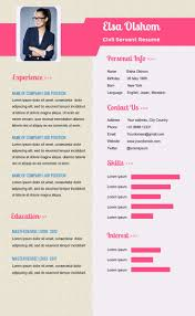 Resume infographic template available in Visme, an infographic maker online  software