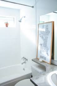 painting tile wallsHow to Paint Shower Tiles White  A Budget Remodel Option