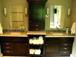 bathroom vanity and linen cabinet. Bath Vanity With Linen Cabinet Bathroom Vanities Matching Cabinets And .