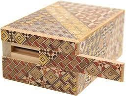 寄木 細工 秘密 箱